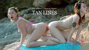 Ally Breelsen & Victoria Traveler – GG-Tan Lines