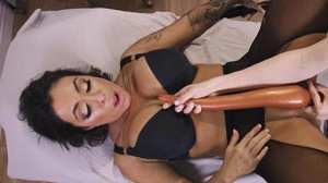 Simone Garza & Alexa Nova – Alexa gets a rectal Exam from Pervert MILF nurse then turns the tables
