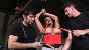Richelle Ryan – Big Ass-ed MILF Richelle Ryan Trained and Fucked in Rope Bondage!!