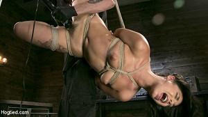 Gina Valentina – Tiny Sexual Plaything Gina Valentina Tied and Fucked in Rope Bondage!