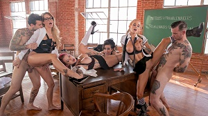 Anna Bell Peaks, Jessica Drake, Lily Lane & Sarah Jessie – Jessica Drake Is Wicked