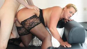 PD Tanja – Mature German blondie Tanja gets cum on ass in dirty hard fuck