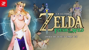Katy Jayne – Zelda Flesh of the Wild: A DP XXX Parody