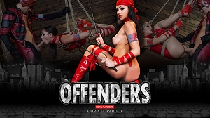 Ariana Marie – The Offenders: A DP XXX Parody