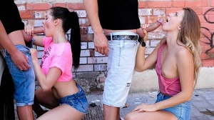 Cassie Right & Mary Kalisy – Back Alley Beauties