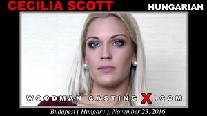 Cecilia Scott – CASTING X 170