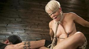 Helena Locke – Blonde Buff MILF Helena Locke Made to Cum in Tight Rope Bondage!!