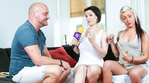 BJ Cat – Amateur German babe gets facial in first time porn scene with Mark Aurel
