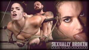 Scarlet De Sade – Greedy cock slut Scarlet De Sade is rough fucked with her incredible tits bound LIVE!