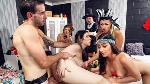 Jasmine Vega & Amilia Onyx – Dorm Room Fucksgiving