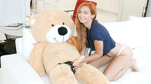 Kadence Marie – Immature Spinner Caught Fucking A Teddy Bear