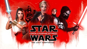 Georgie Lyall, Adriana Chechik & Lily Labeau – Star Wars: The Last Temptation A DP XXX Parody