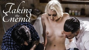 Chloe Cherry – Taking the Enema