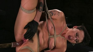 Lilith Luxe – Pain Slut Lilith Luxe Cums Relentlessly from Torment and Rope Bondage!