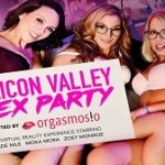 Jade Nile, Moka Mora & Zoey Monroe – Silicon Valle Sex Party VR