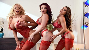 Madison Ivy, Monique Alexander & Nicolette Shea – 1 800 Phone Sex: Line 8
