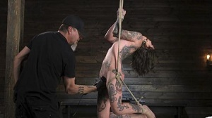 Krysta Kaos – Alt Dream Girl Krysta Kaos Abused and Fucked in Extreme Rope Bondage!!
