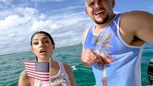 Vanessa Sky – Cuban Hottie Gets Rescued at Sea