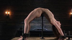 Alexa Nova – Petite Slave Alexa Nova Locked in Metal Bondage and Tormented Orgasms