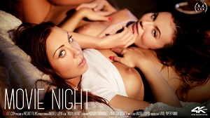 Morgan Rodriguez & Vanessa Decker – Movie Night