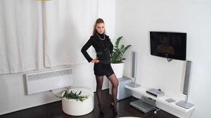 Amateurs From Bohemia – Horny slut in black