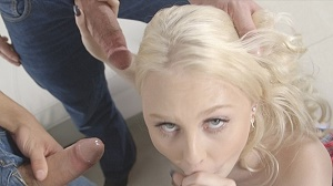 Lily Rader – Hot blonde Lily Rader's exclusive first ever gang bang