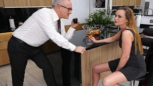 Nika – Horny housewife Nika fucking and sucking in her kitchen