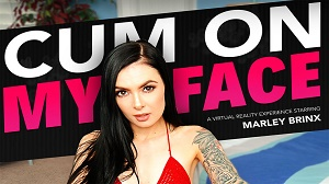 Marley Brinx – Cum On My Face