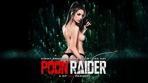 Kimmy Granger, Rina Ellis & Tina Kay – Poon Raider: A DP XXX Parody