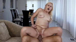 Summer Day – Hot Blonde Summer Day Loves Riding Cock