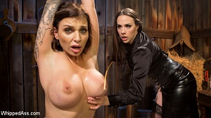 Chanel Preston & Ivy LeBelle – Busty Thief Captured and Tased to Orgasm!