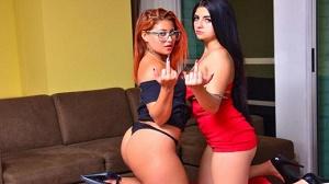 Jesica Dulce & Leidy Silva – Colombian babes orgasm in lesbian vengeance fuck