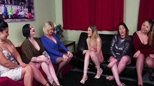 Amy Goodhead, Crystal Coxxx, Crystal Smith, Elouise Lust, Nicola Kiss & Rhiannon Ryder – Vetting His Size
