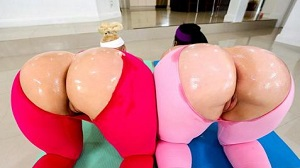 Virgo Peridot & Alexis Andrews – Two Huge Booties Are Better Than One