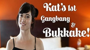 Kat – First Gangbang And Bukkake – E20