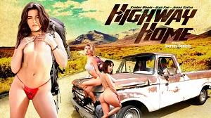 Arya Fae, Jenna Sativa & Kimber Woods – Highway Home