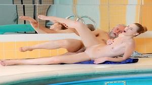 Ilona C – Fresh babe and old pool boy