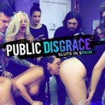 Betty Foxxx, Mona Wales & Liz Rainbow – Tight And Curvaceous Betty Foxxx Fucked In Public By New Young Domme!