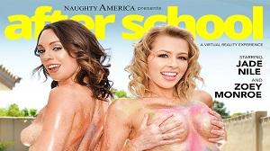 Jade Nile & Zoey Monroe – Naughty America