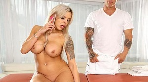 Nina Elle – Busty Nina Squirts During Anal For A Messy Creampie