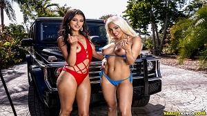 Sophia Leone & Luna Star – Miami Car Wash