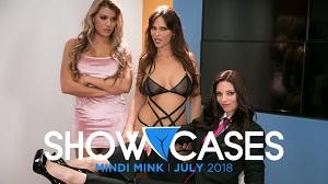 Syren De Mer, Mercedes Carrera & Mindi Mink – Showcases: Mindi Mink – 2 Scenes In 1