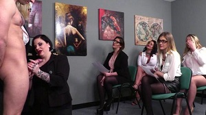 Amy Goodhead, Crystal Coxxx, Crystal Smith, Elouise Lust, Nicola Kiss, Rhiannon Ryder – Bidding On Cock