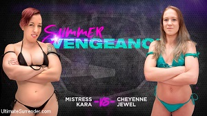 Cheyenne Jewel & Mistress Kara – Cheyenne Jewel vs Mistress Kara
