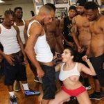 Valentina Nappi – Interracial Blowbang
