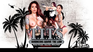 Whitney Wright, Honey Gold & Monique Alexander – T.I.T.S: Bouncing Above the Law