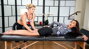 All Girl Massage – India Summer & Jaye Summers