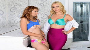 Aaliyah Love & Kadence Marie – The Sluts & The Pianist