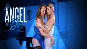 Blue Angel & Rebecca Volpetti – Angel In Blue: Bi-Curious Beauties
