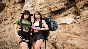 Adriana Chechik & Kissa Sins – Sapphic Curse Of The Crystal Skull